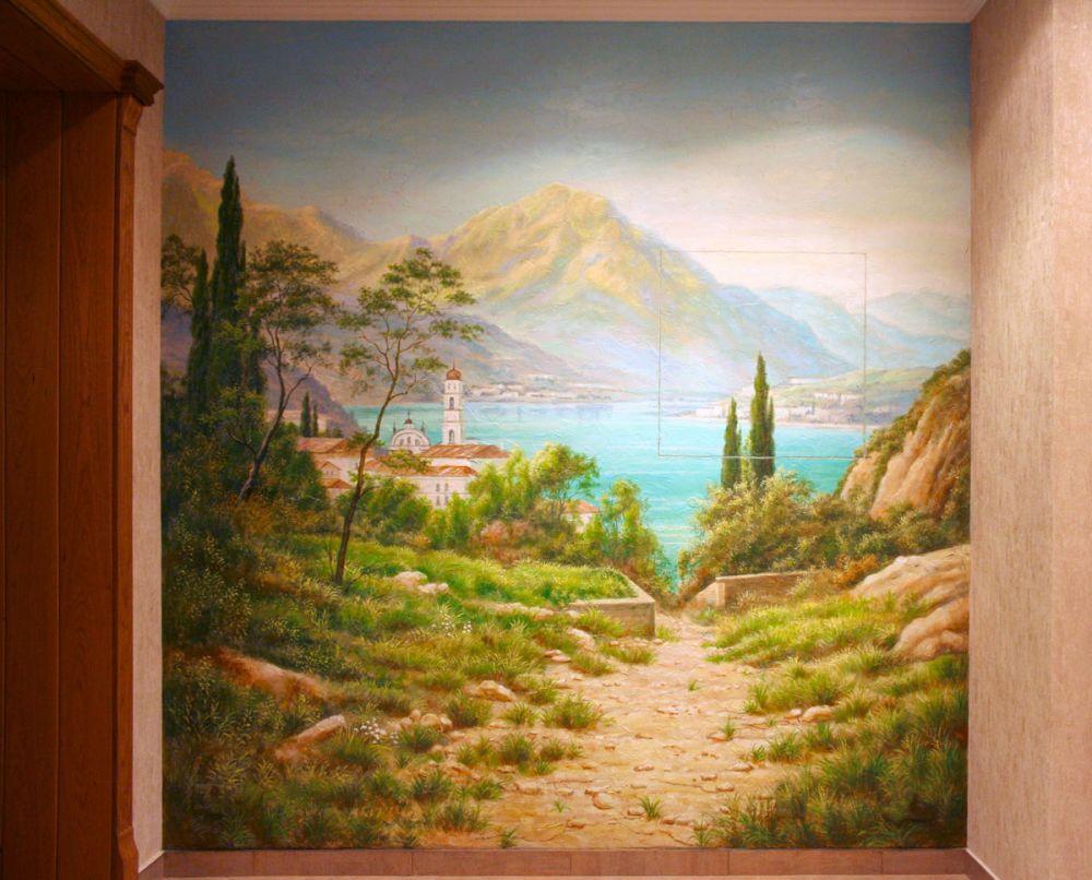 Роспись стен своими руками форум