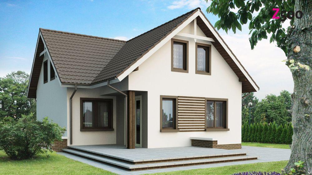 Небольшие дома с мансардой своими руками 66